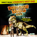 Dinosaur World Live is coming to The Pullo Center