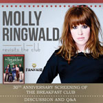 Molly Ringwald Revisits the Club is coming to The Pullo Center