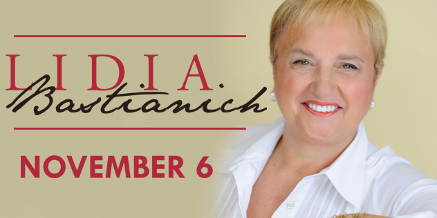 An Intimate Conversation with Lidia Bastianich