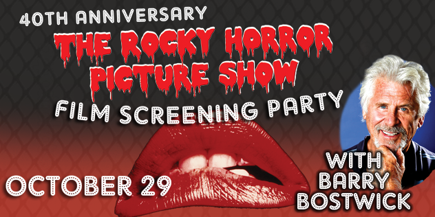 Barry Bostwick Live on Stage - Rocky Horror Picture Show 40th Anniversary Film Screening Party